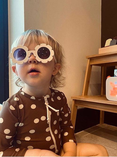 White Sunflower Sunglasses