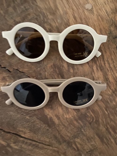 Bebe Round Sunglasses