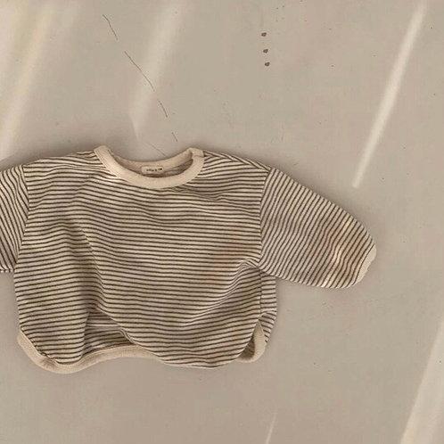 Aurora Striped T (beige)