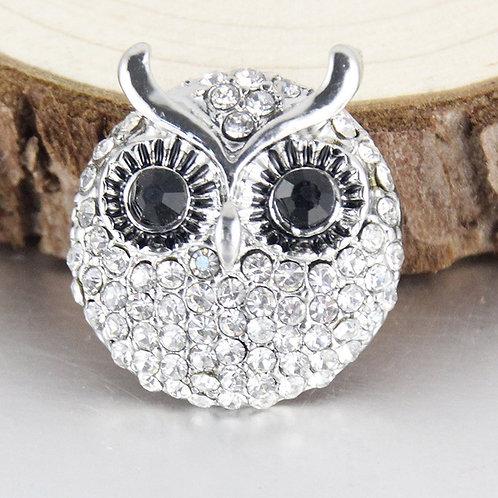 Round Crystal Owl