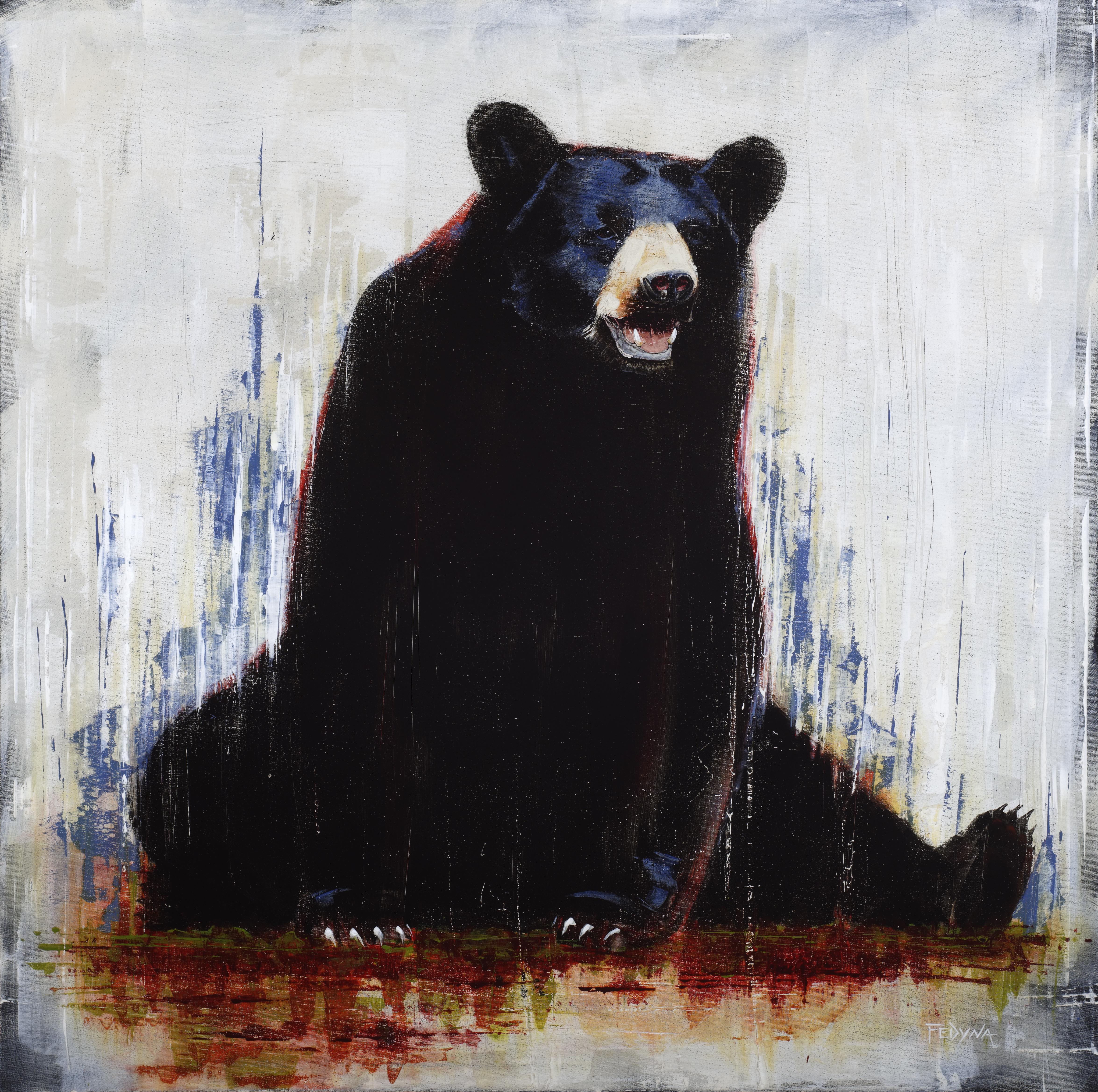 "Papa Bear - 60"" x 60"" SOLD"