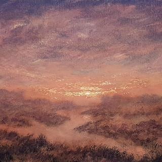 Sunset in Mauve