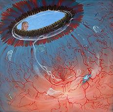 Ann Sofie - 2006 - Acryl on canvas - 60x