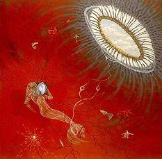Silicone Mermaid - 1994 - Acryl on canva