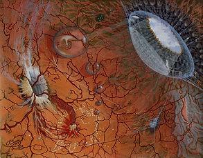 Air bells - 1992 - Acryl on canvas - 40x