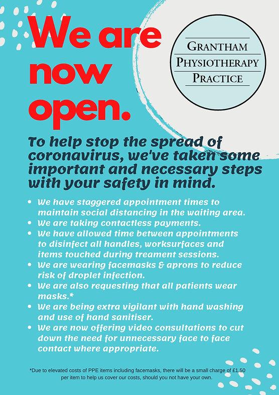 To help stop the spread of coronavirus,