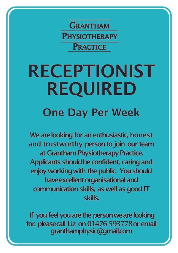 receptionist advert A5.jpg