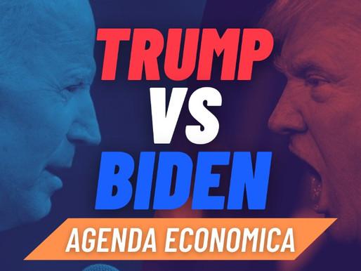 Trump vs Biden: agenda economica