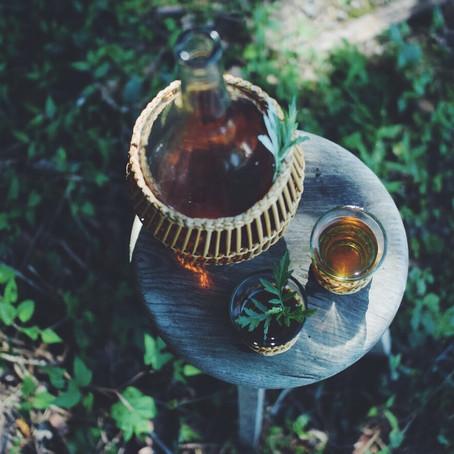 せせらぎ涼む 水出しよもぎ茶