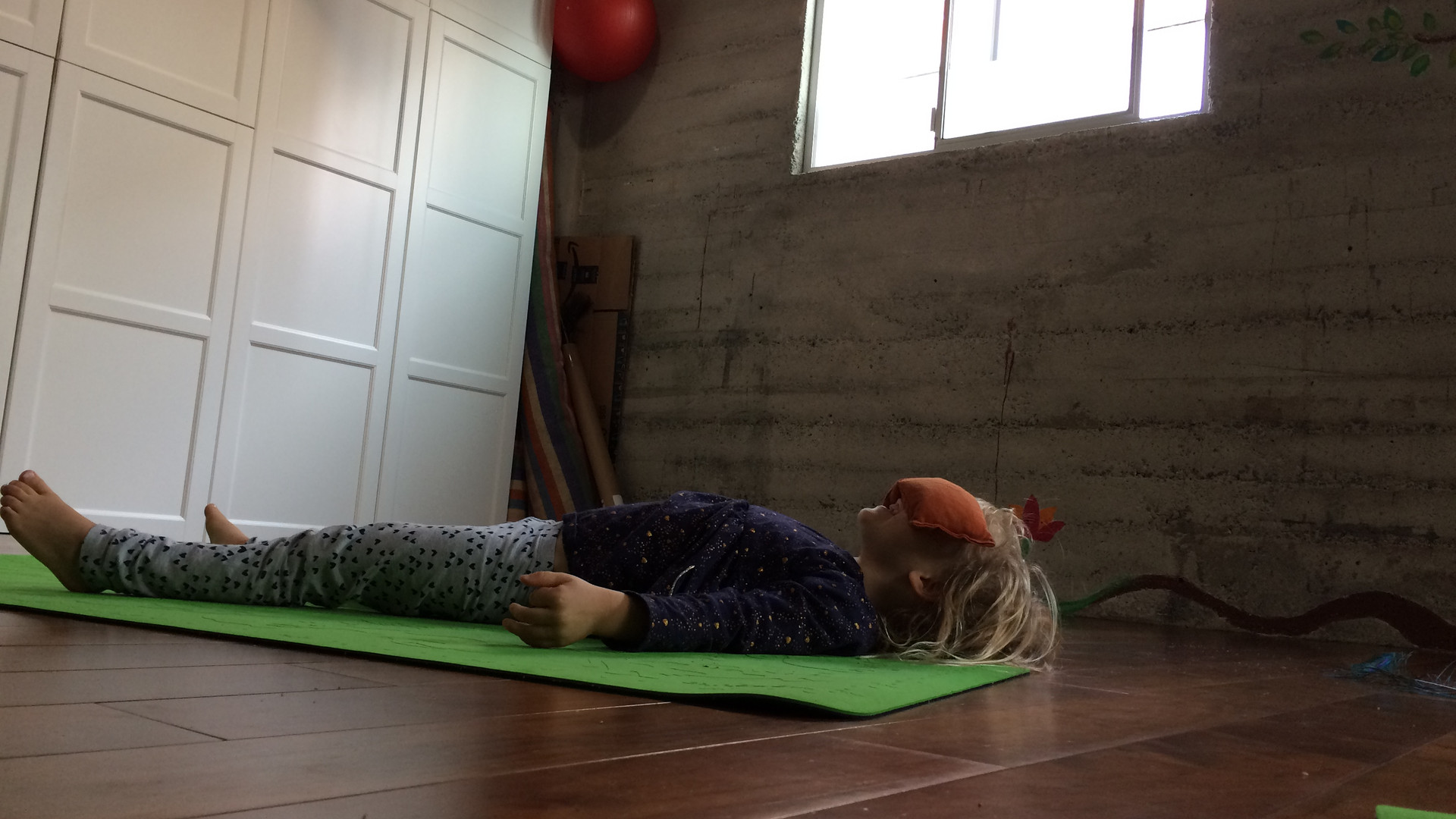 Yoga Rest...and giggles.