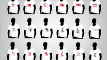 10 Kasım M. Kemal Atatürk Baskılı T shirt