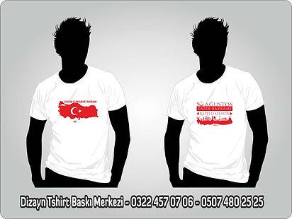 türkiye haritalı baskılı tshirt