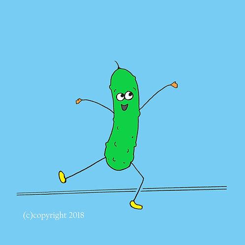 dancing pickle