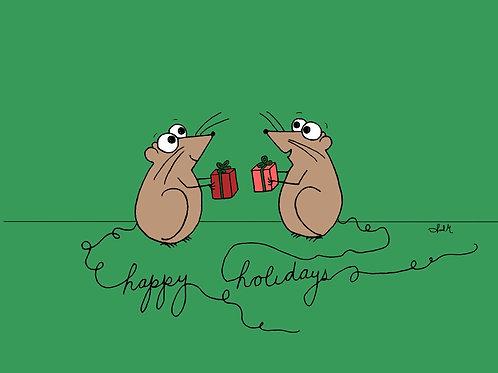 happy holidays meece