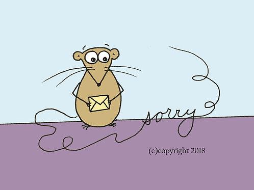 apology mouse