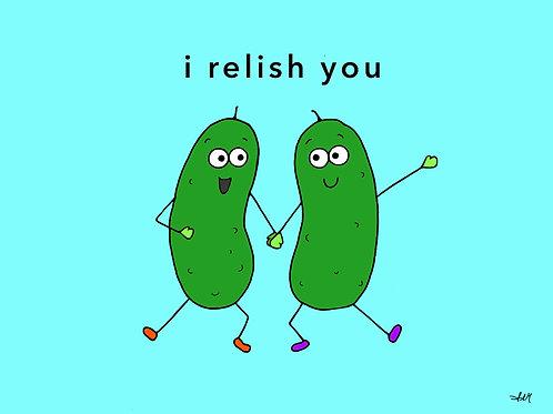 i relish you