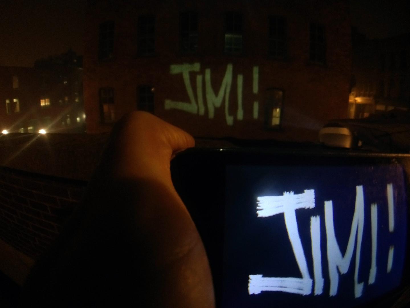 Third Shift 2015 - Phone to Wall