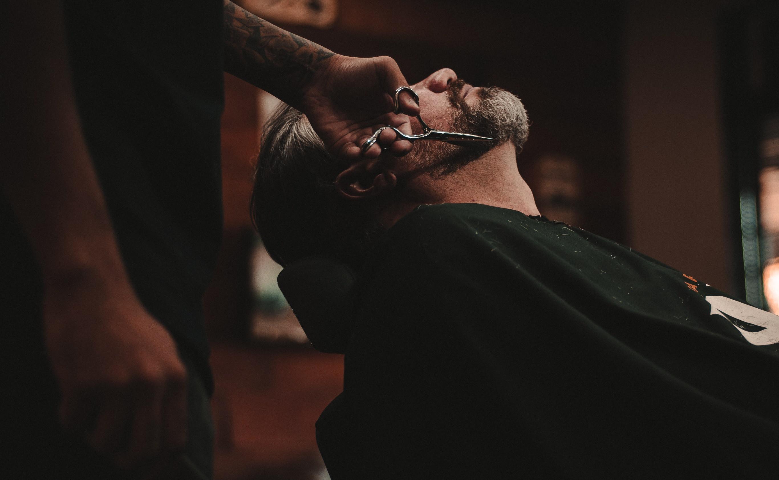 Beard Trim, line up, clean up