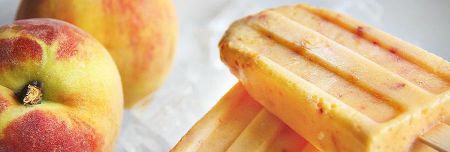 Peach Popsicles