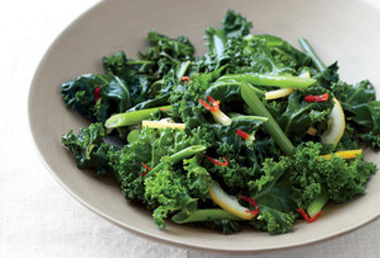 Sauteed Kale with Chilies & Lemon