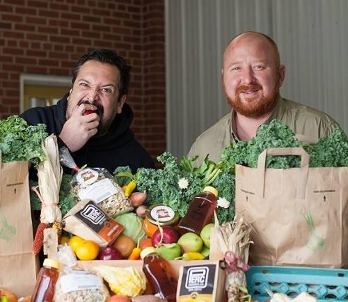 Steve & Erik, Farm Baggers