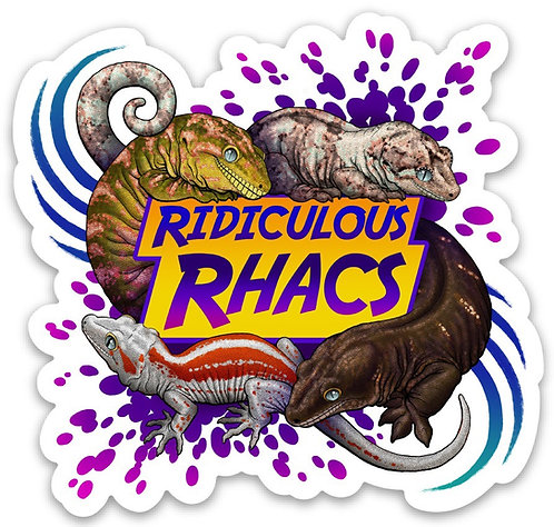 Ridiculous Rhacs Stickers