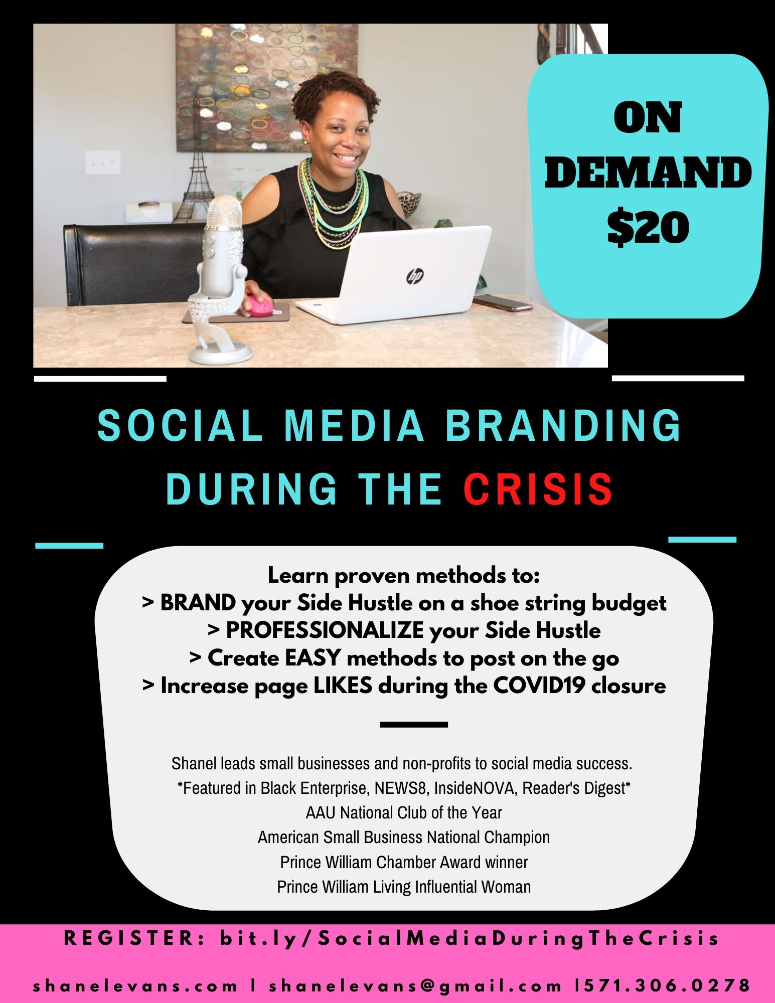 Shanel's - SOCIAL MEDIA during the Crisi