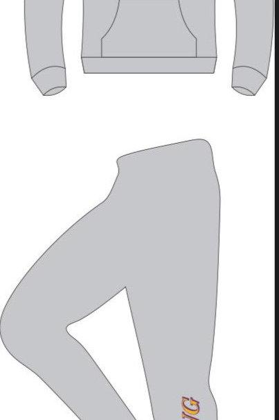 Jogging Suit - Lightweight Spring Grey