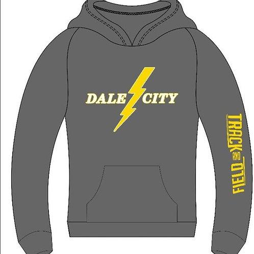 Grey Lightning Hoodie