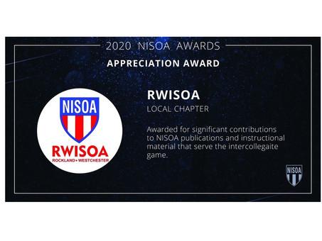 2020 NISOA AWARDS