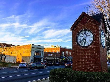 Main Street in East Point, Georgia