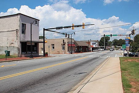 Downtown PalmettoU.S. Route 29 in Palmetto, Georgia