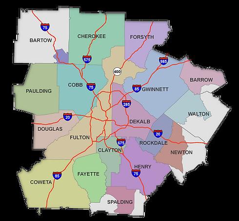 Metro Atlanta Area Counties.png