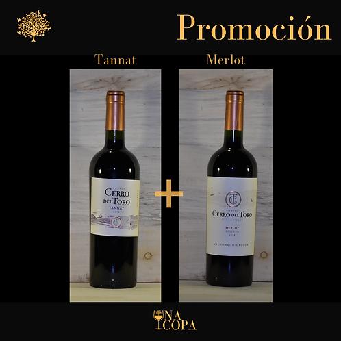 Promo Cerro del Toro - Tannat + Merlot