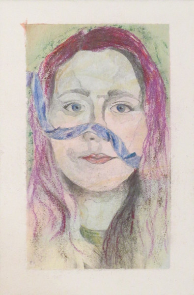 Self Portraits with Ribbon, detail