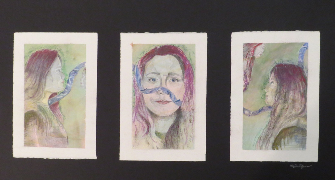 Self Portraits with Ribbon