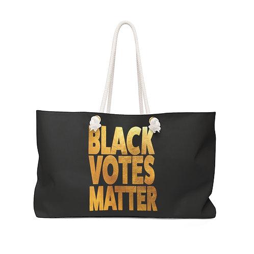 Black Votes Matter Weekender Bag