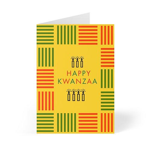 Happy Kwanzaa _ Greeting Cards (8 pcs)
