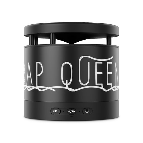 Trap Queen Metal Bluetooth Speaker and Wireless Charging Pad
