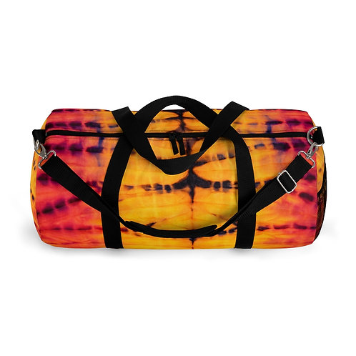 Sunset Tie Dye Duffel Bag