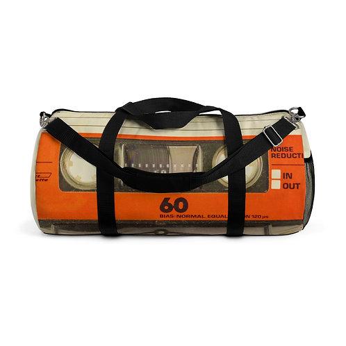 80s Cassette Duffel Bag