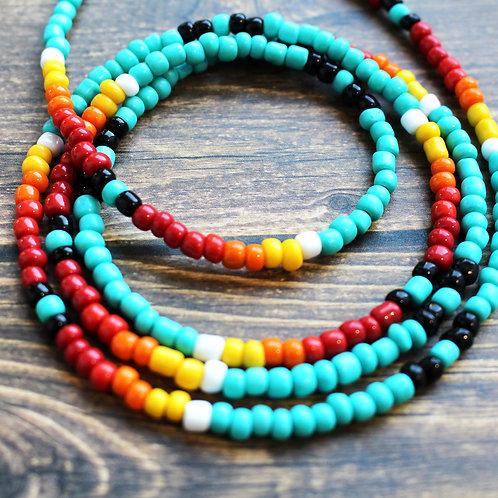 Tribal African Waist Beads