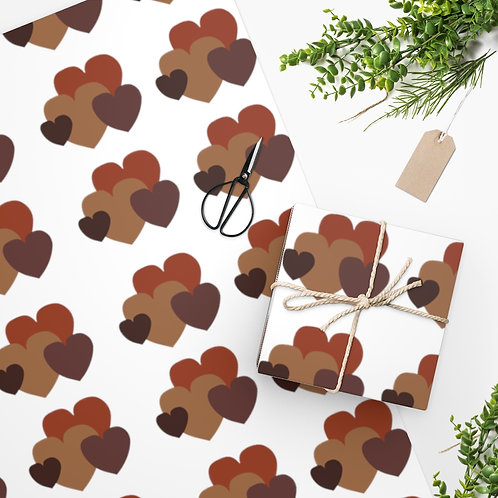 Chocolate Love Wrapping Paper