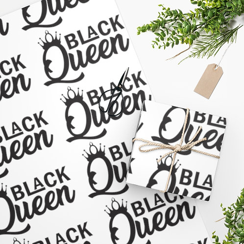 Black Queen Wrapping Paper