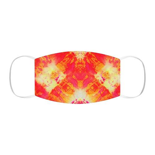 Orange Tie Dye Face Mask