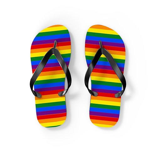 Pride Flip Flops