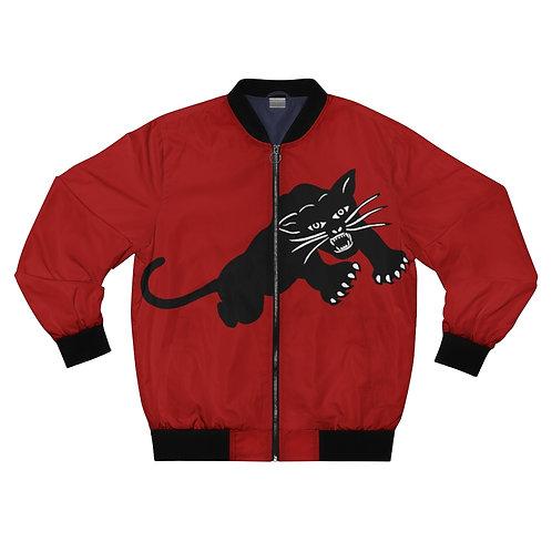 Red Fred Hampton Bomber Jacket