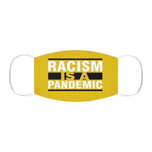 Racism Pandemic Face Mask