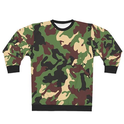 Unisex Camouflage Sweatshirt