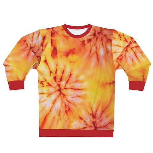 Sunrise Tie Dye Print Sweatshirt